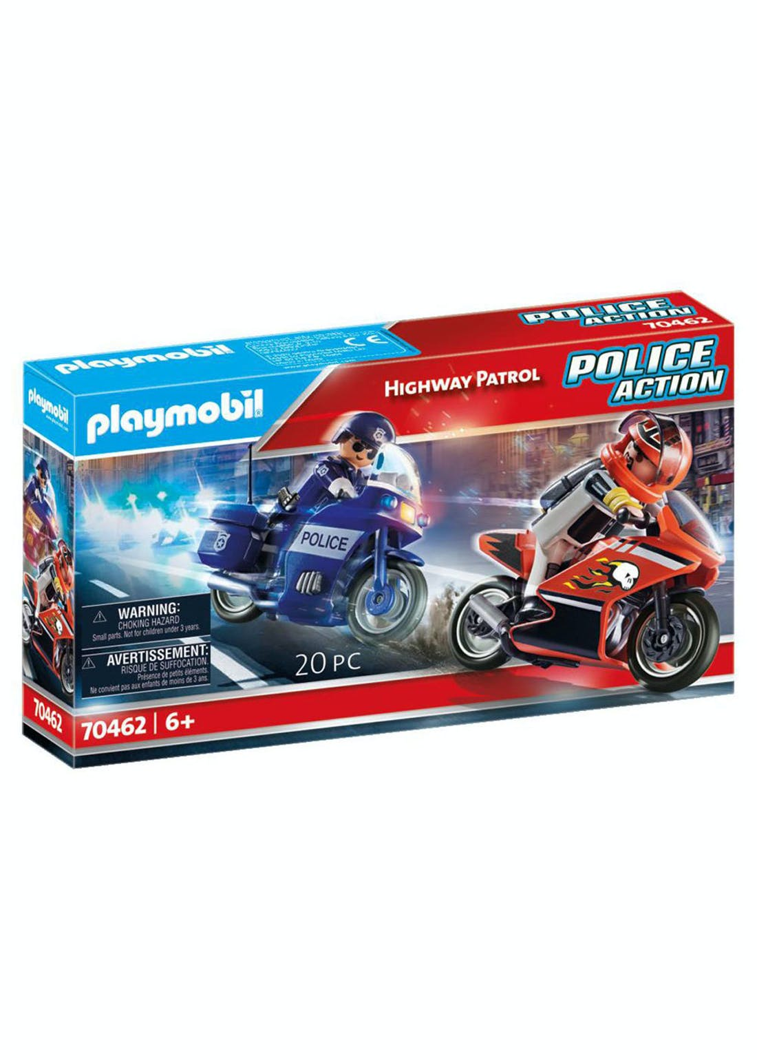Playmobil 70462 Police Action Highway Patrol (25cm x 14cm x 4.5cm)