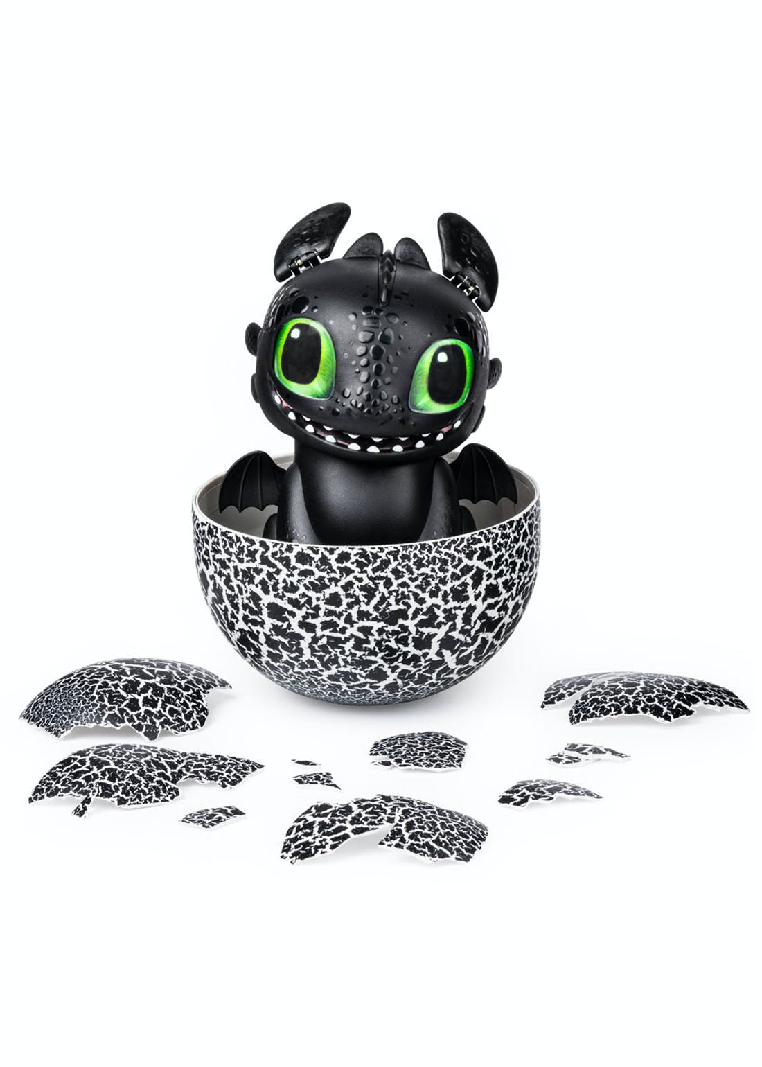 DreamWorks Dragons Hatching Interactive Baby Dragon - Toothless (26cm x 20.5cm x 16.5cm)