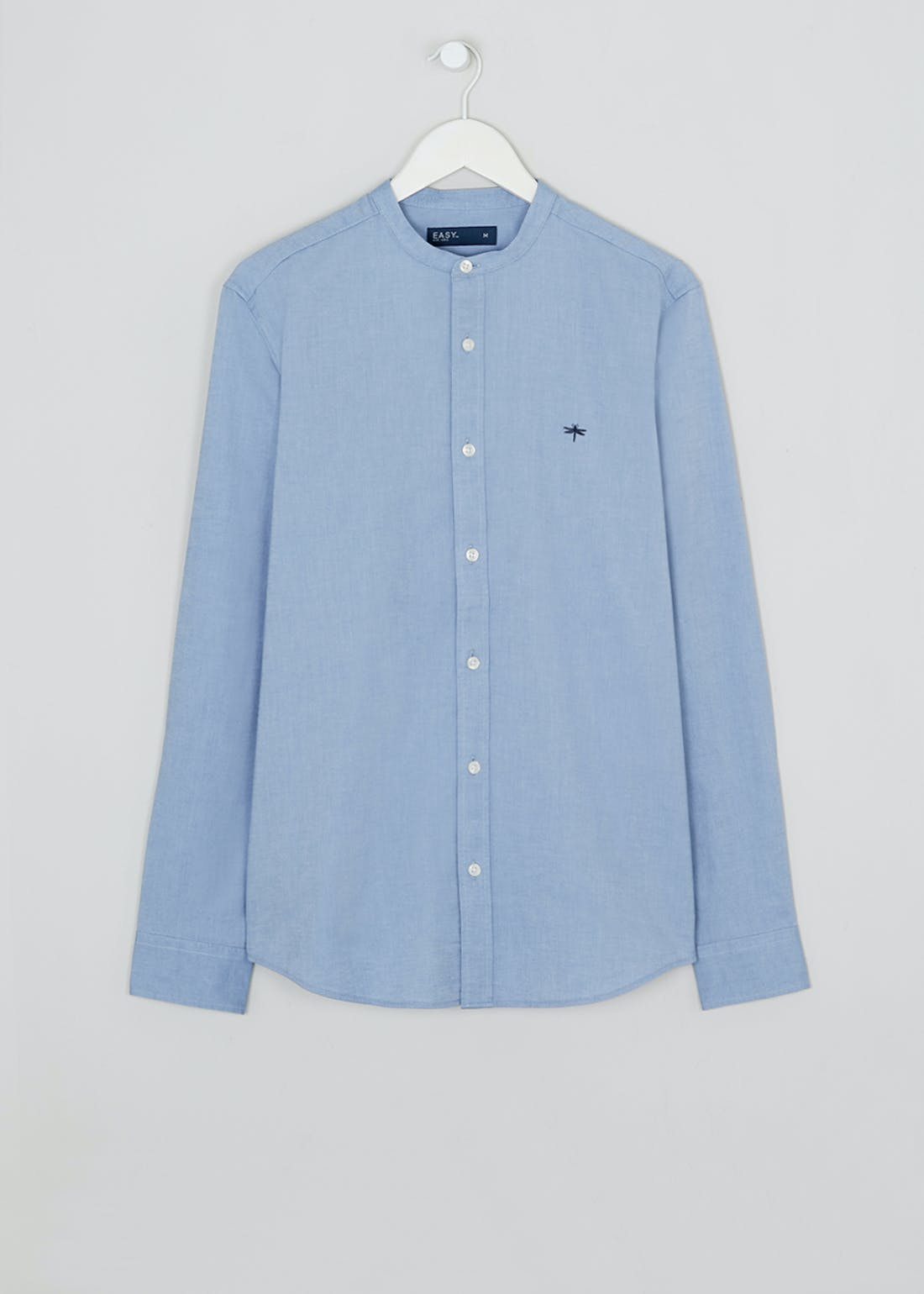 Grandad Collar Oxford Shirt