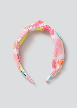 Girls Fruit Print Headband