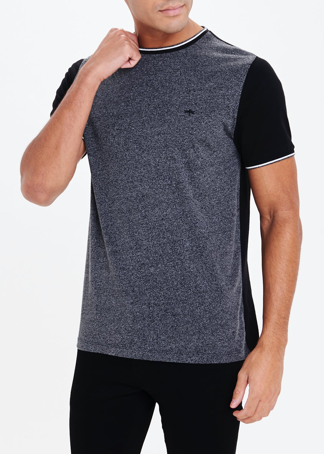 Block Sleeve T-Shirt