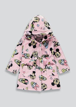 Girls Minnie & Friends Dressing Gown (6mths-6yrs)
