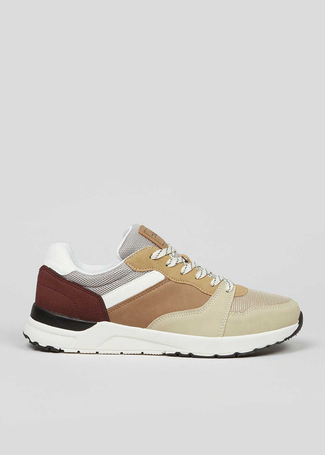 Beige Retro Trainers