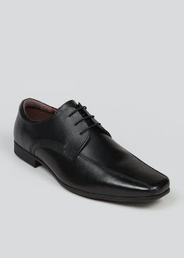 Black Real Leather Formal Shoes