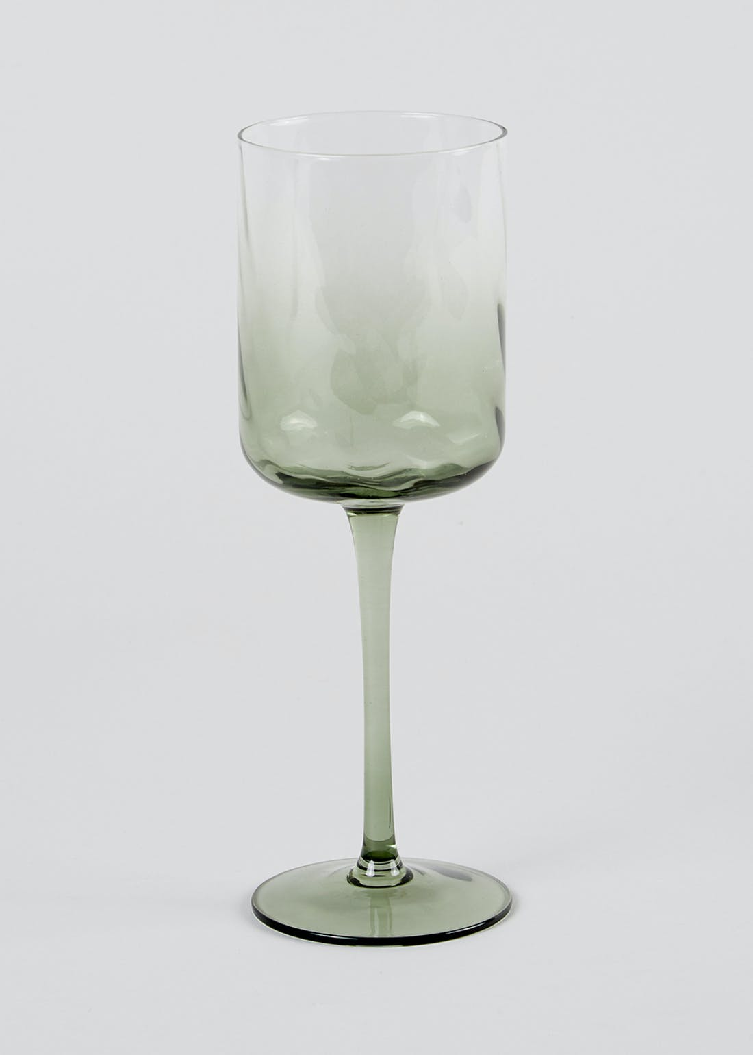 Ombre Hammered Wine Glass (23cm x 8cm)