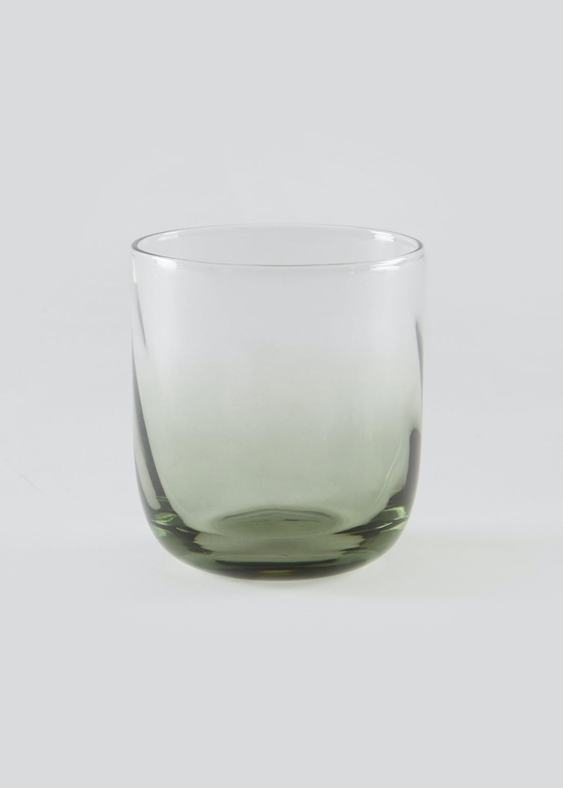 Ombre Hammered Tumbler Glass (9cm x 9cm)