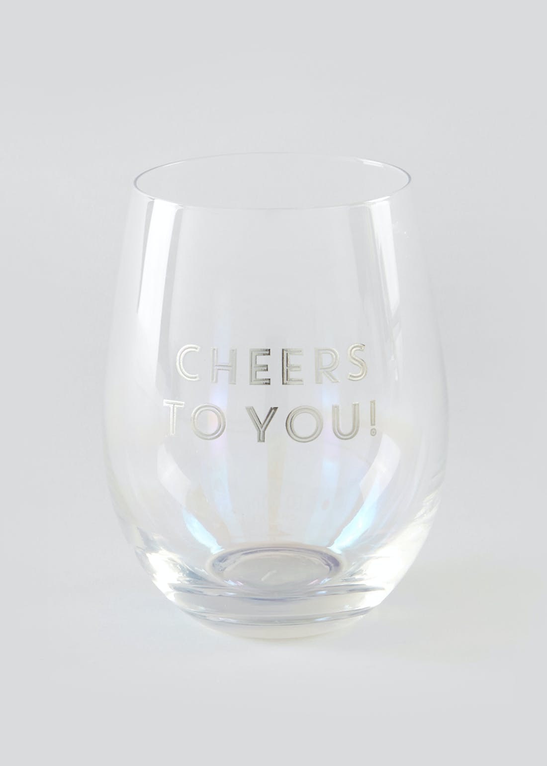 Cheers To You Tumbler Glass (11.5cm x 7.5cm)