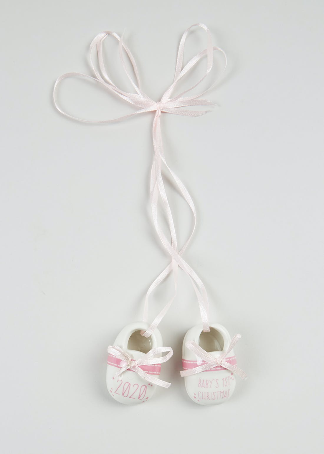 First Christmas Baby Shoes Decoration