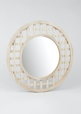 Round Lattice Mirror (60cm x 60cm)