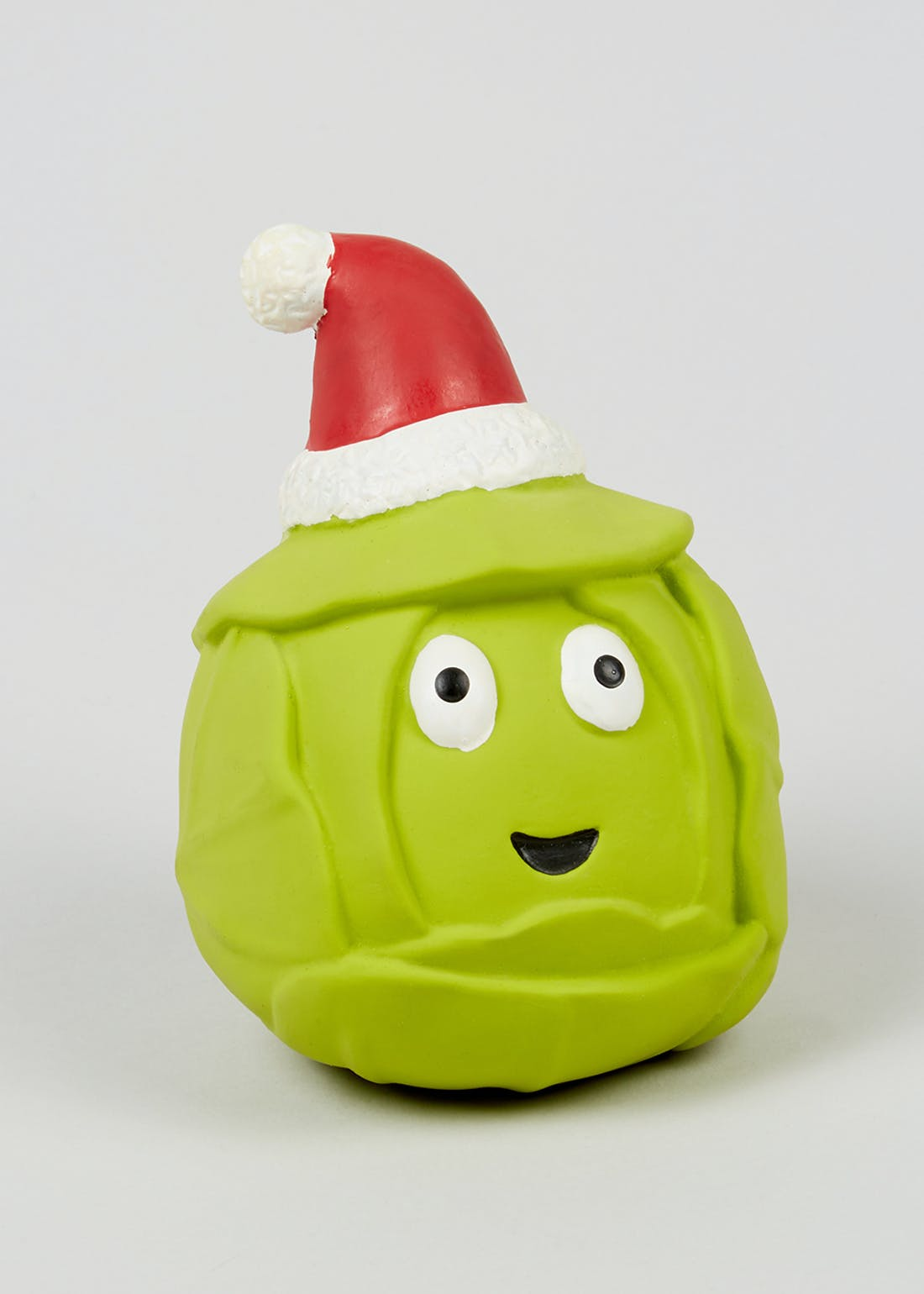 Christmas Sprout Squeaky Pet Toy (12cm x 9cm)