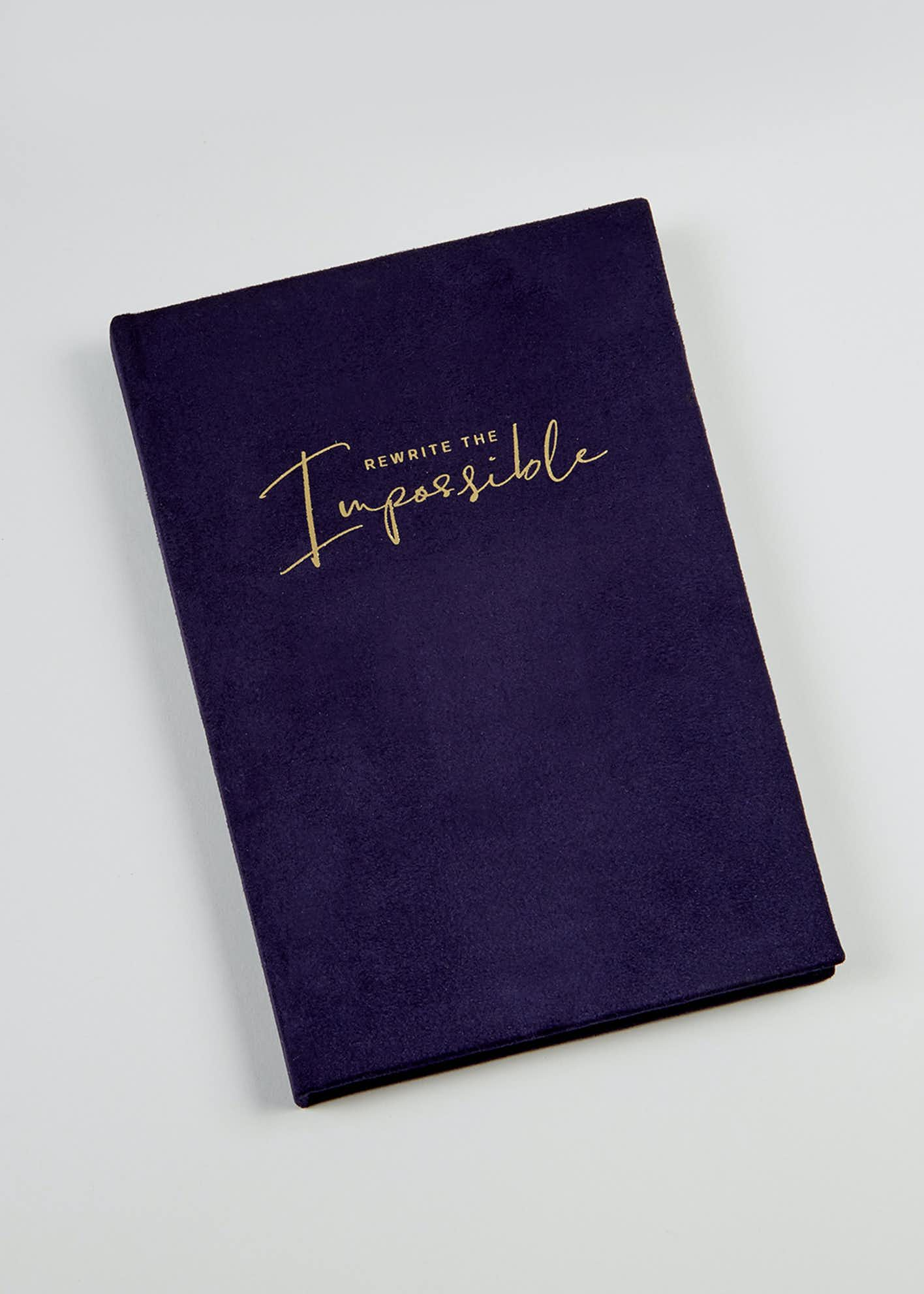 Rewrite the Impossible A5 Notebook (22cm x 15cm x 2cm)