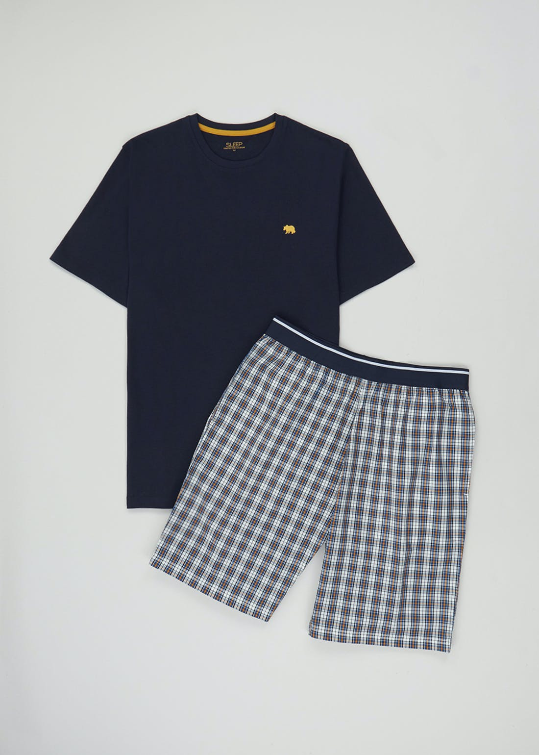 Checked Short Pyjama Set