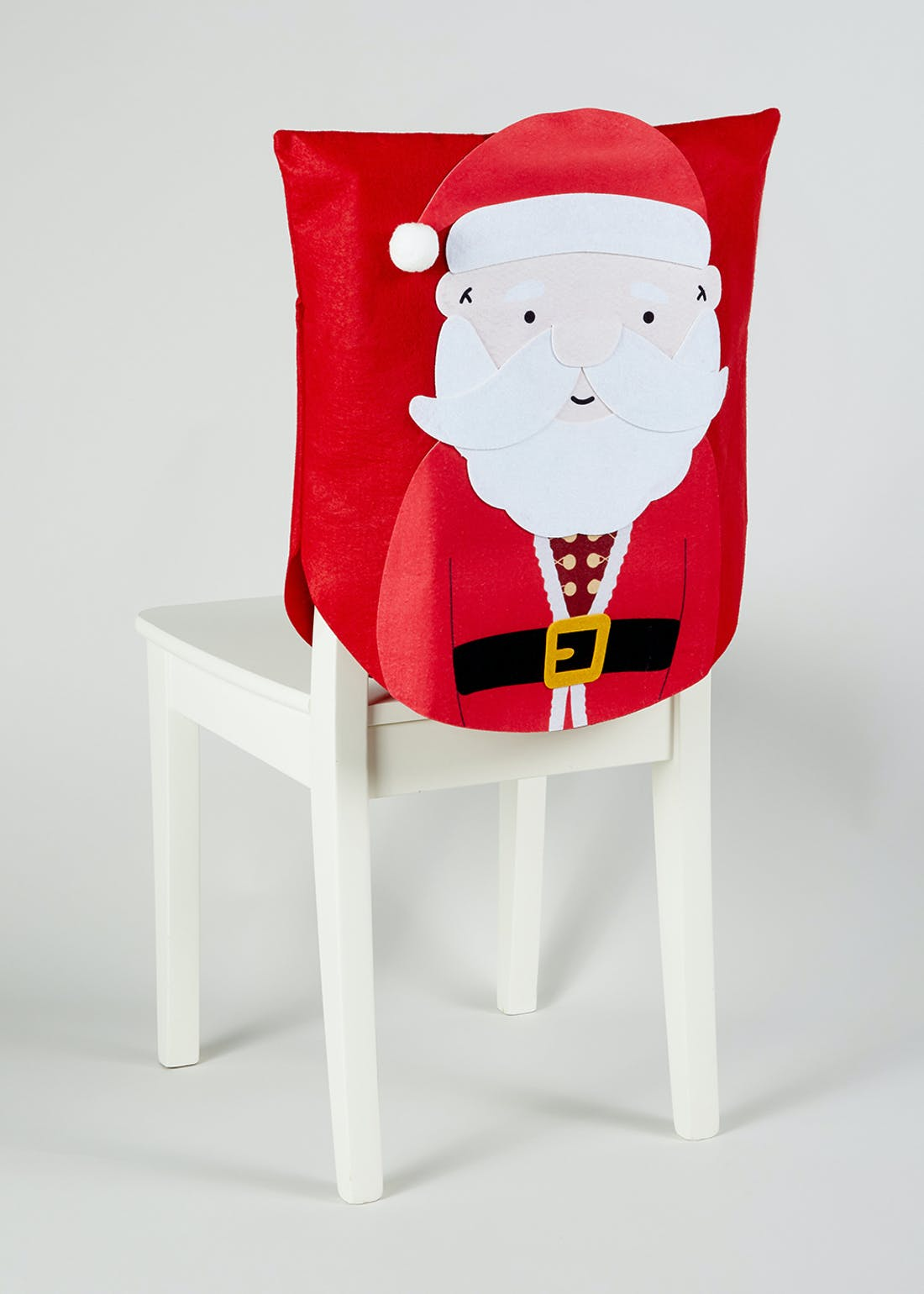 2 Pack Novelty Christmas Chair Covers (53cm x 47cm)