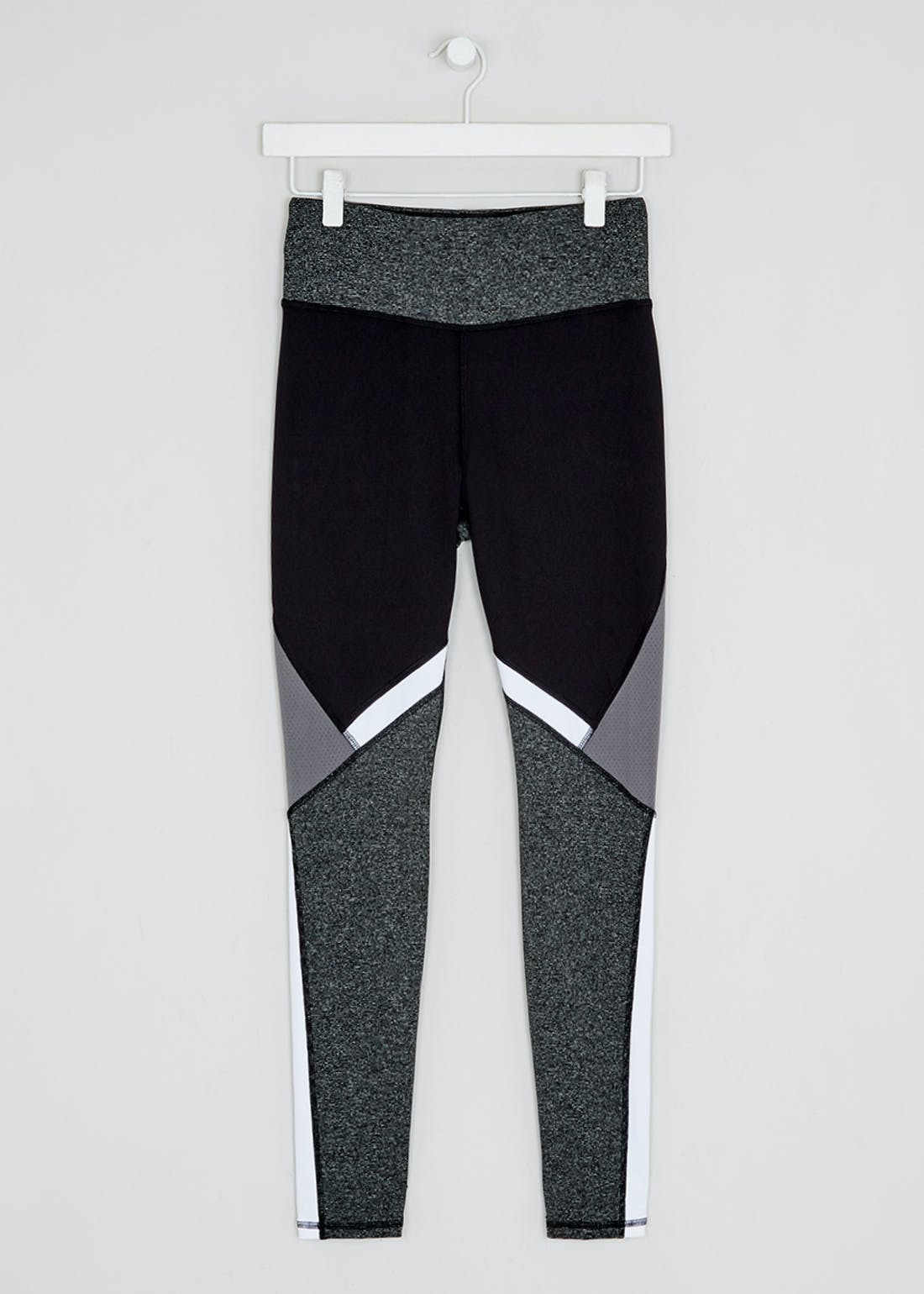 Souluxe Black Mono Gym Leggings