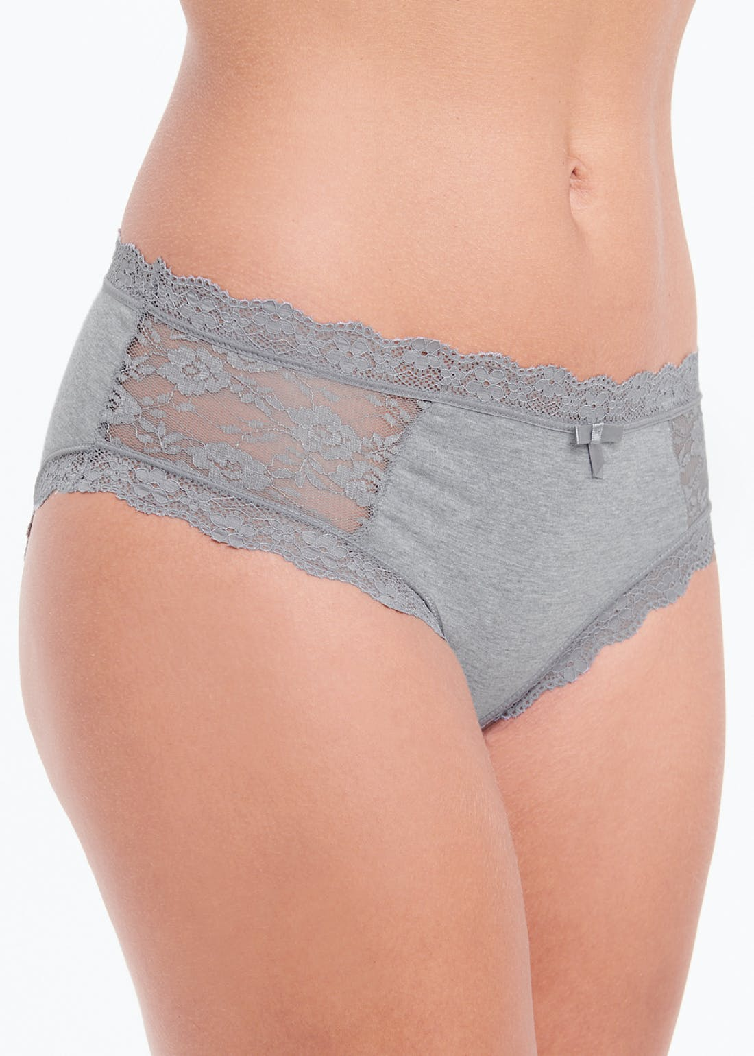 3 Pack Lace Trim Knickers