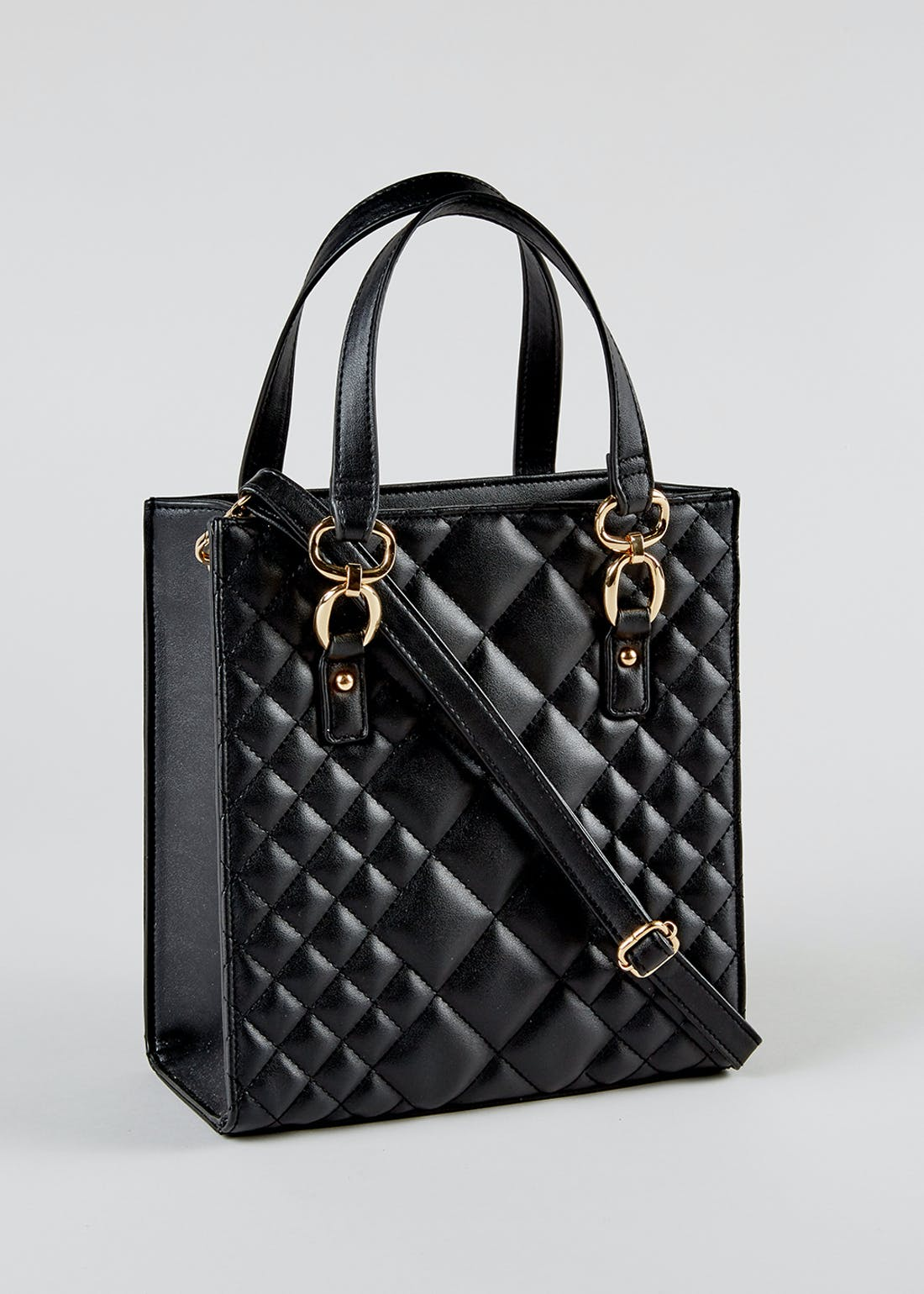 Quilted Square Tote Bag