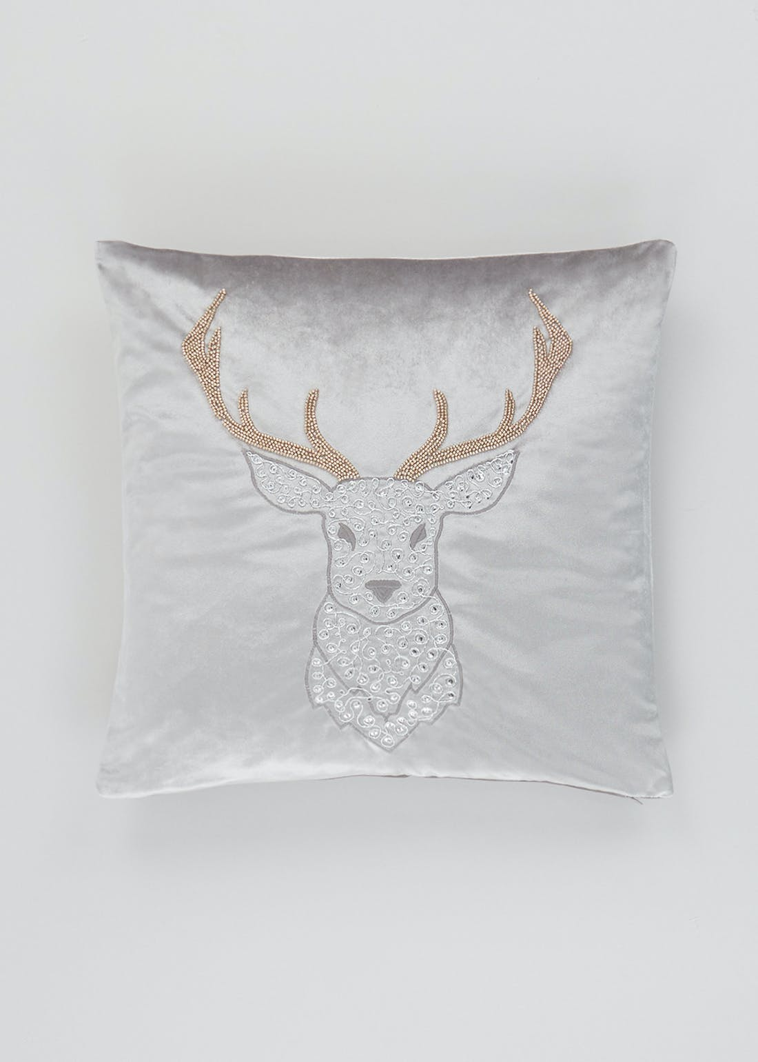 Jewelled Stag Cushion (46cm x 46cm)