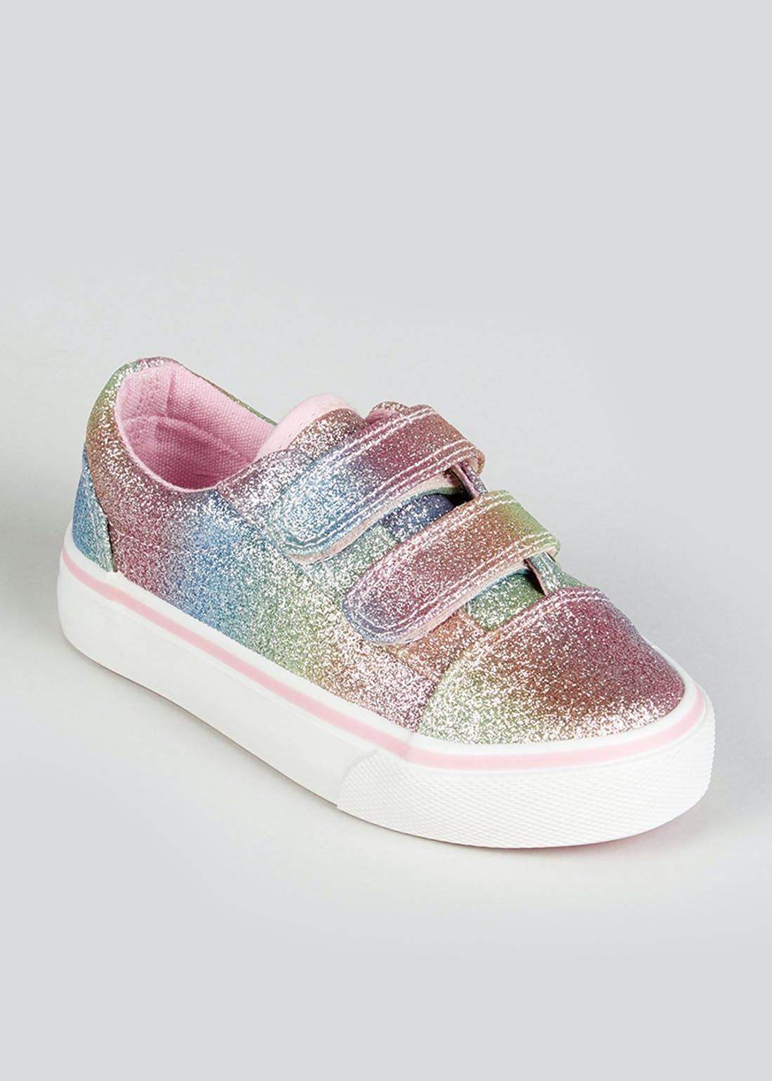 Girls Glitter Trainers (Younger 4-11)