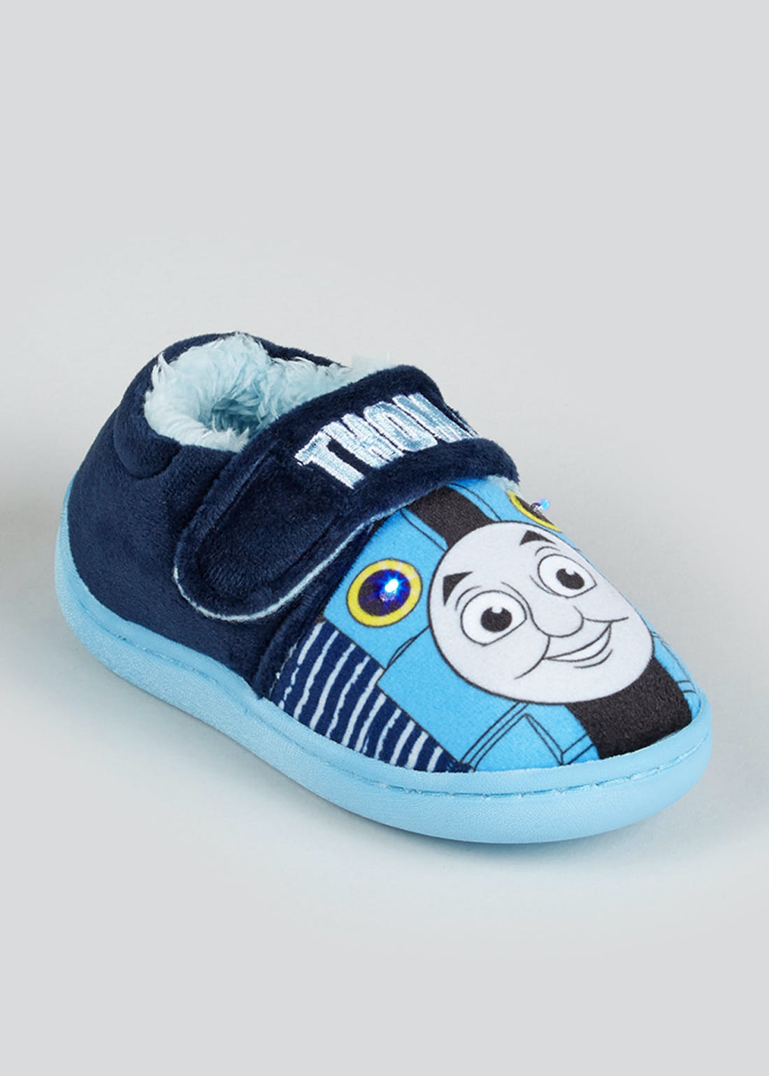 Kids Thomas the Tank Engine Light Up Slippers (Younger 4-12)