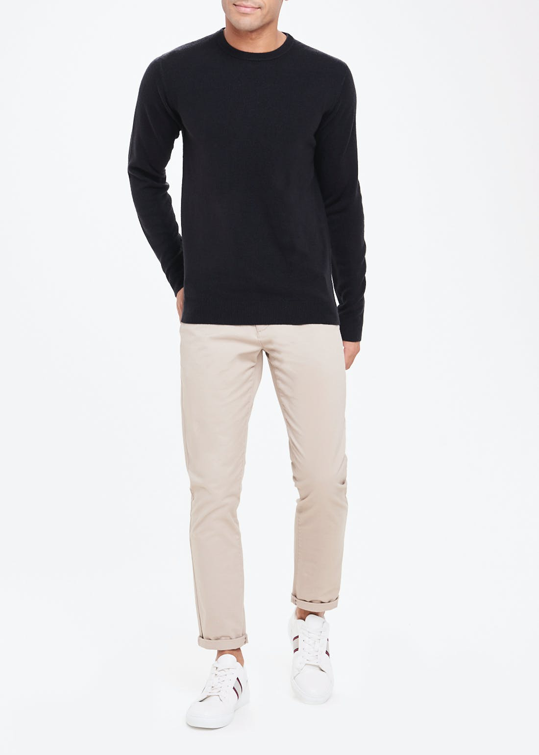 Soft Touch Crew Neck Jumper