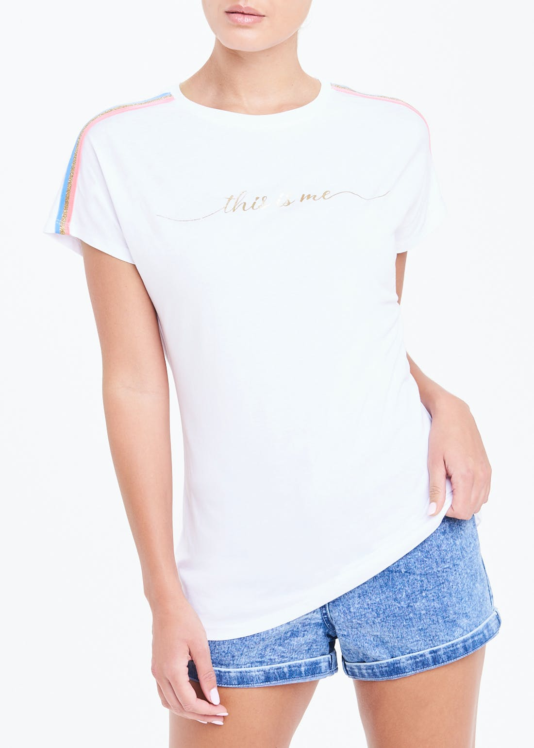 This Is Me Slogan T-Shirt