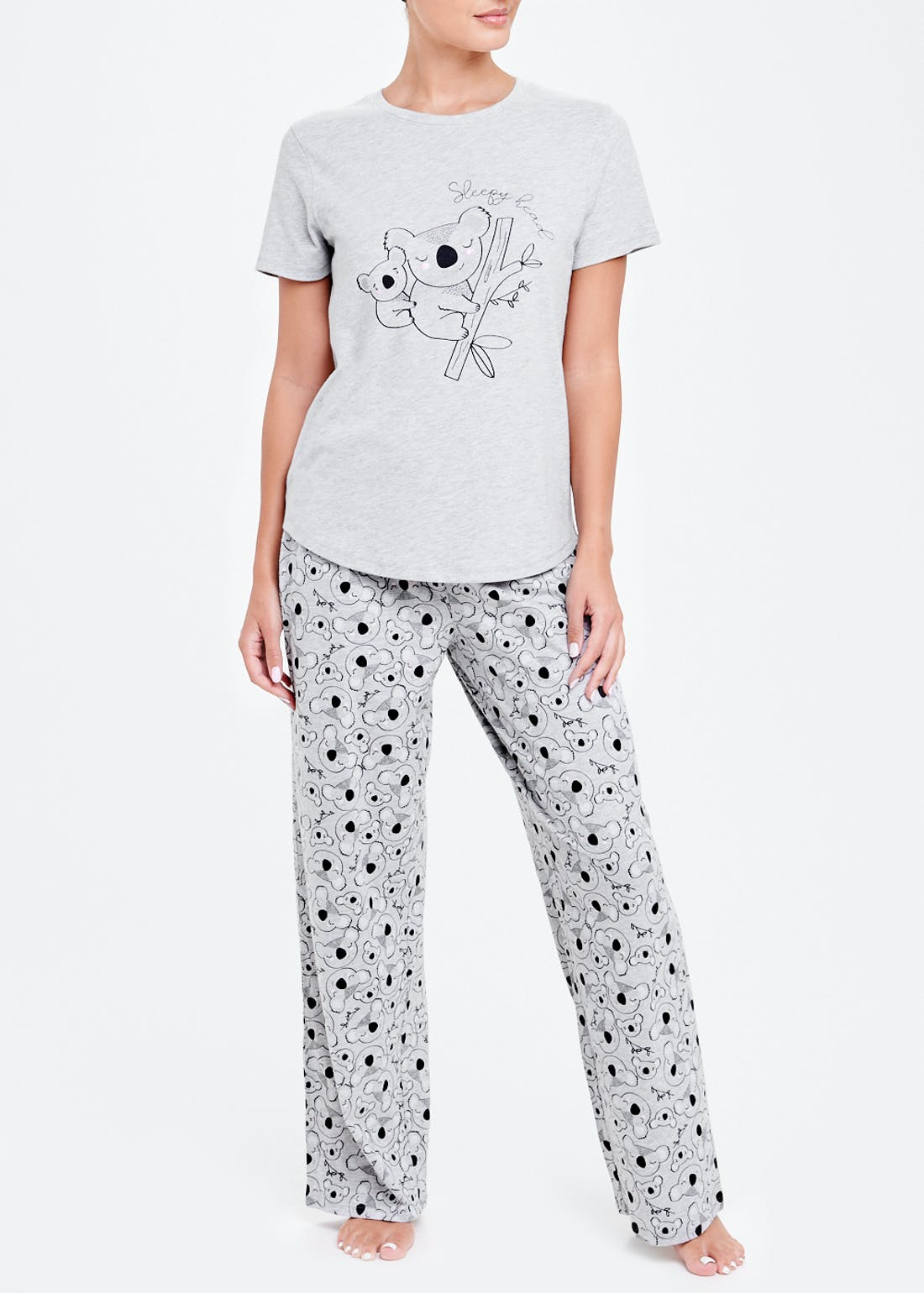 Mix & Match Koala Pyjama Top