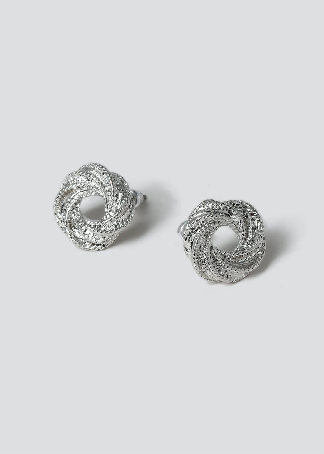 Twisted Stud Earrings