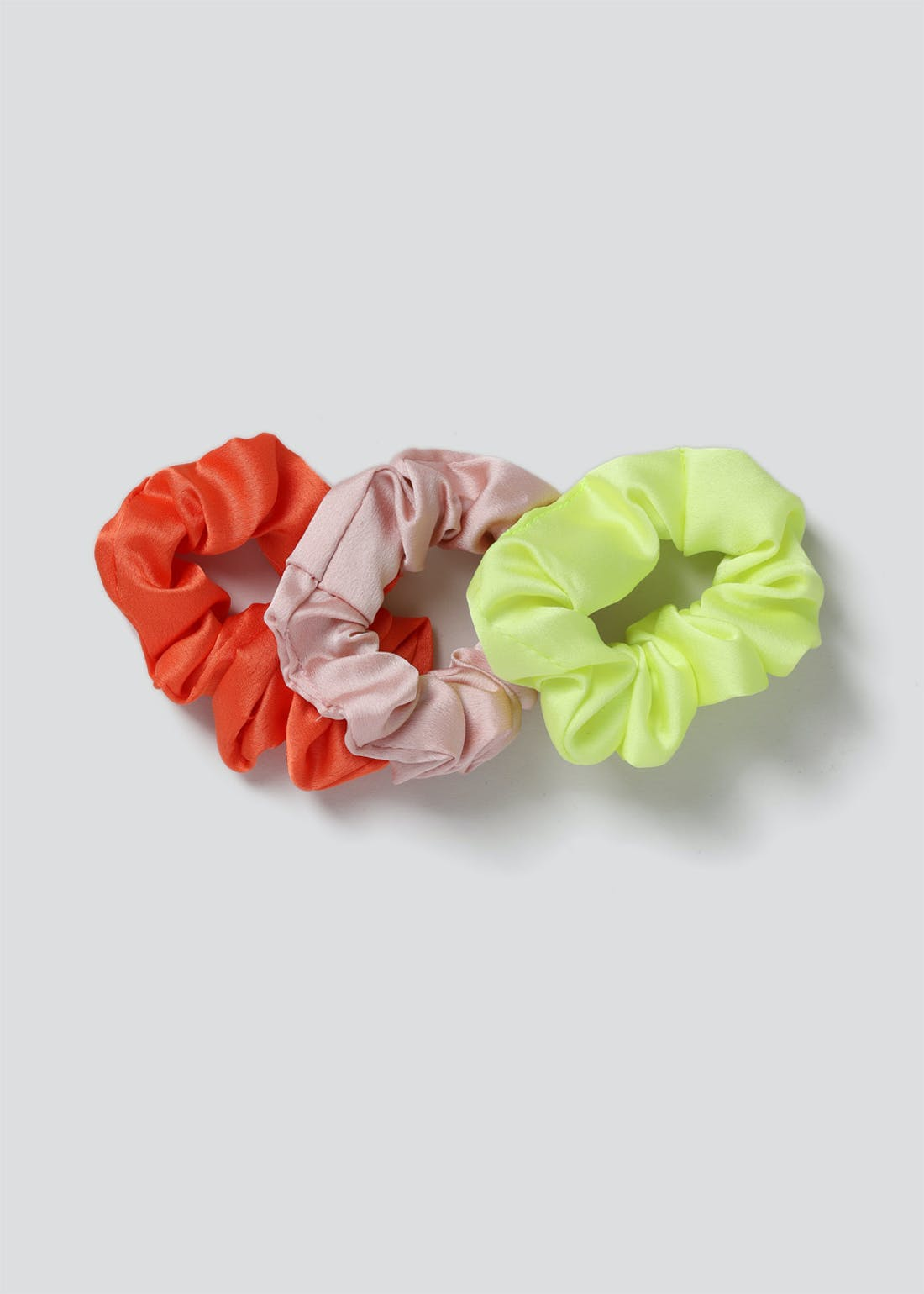 3 Pack Mini Satin Scrunchies