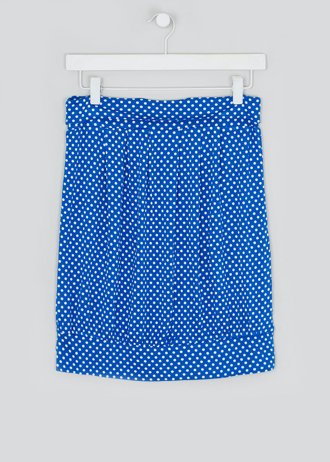 Polka Dot Gathered Bandeau Boob Tube