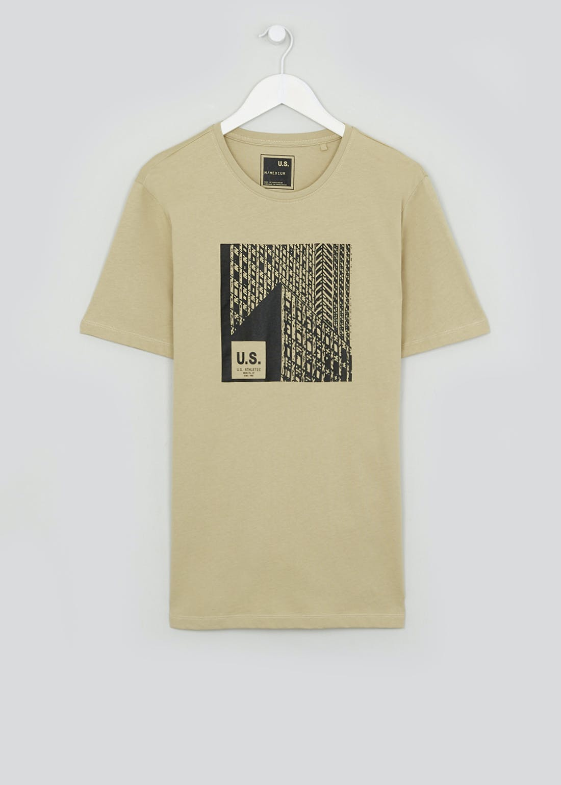 US Athletic New York Grid T-Shirt