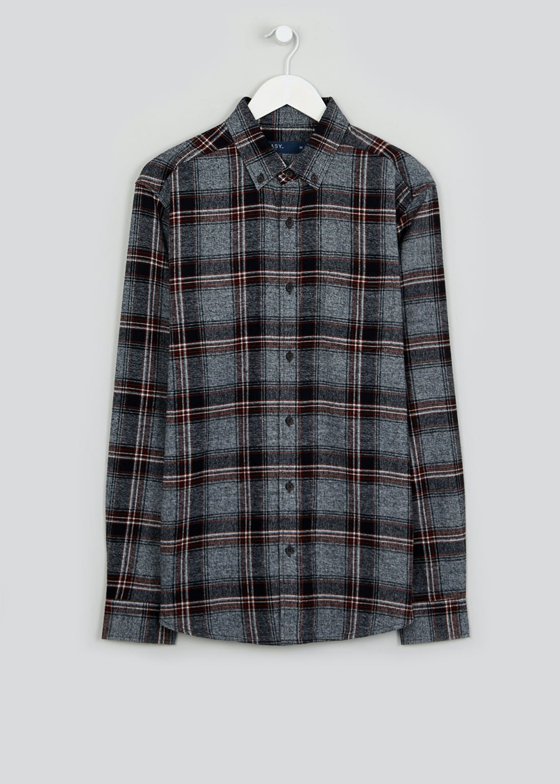 Long Sleeve Grindle Check Flannel Shirt