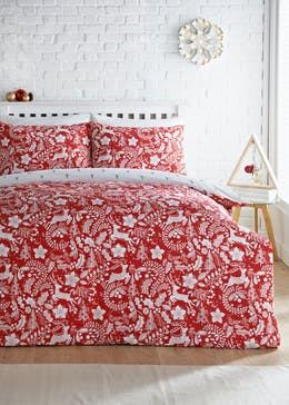 Reversible Scandi Christmas Bedding