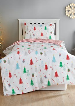 Kids Reversible Christmas Tree Bedding