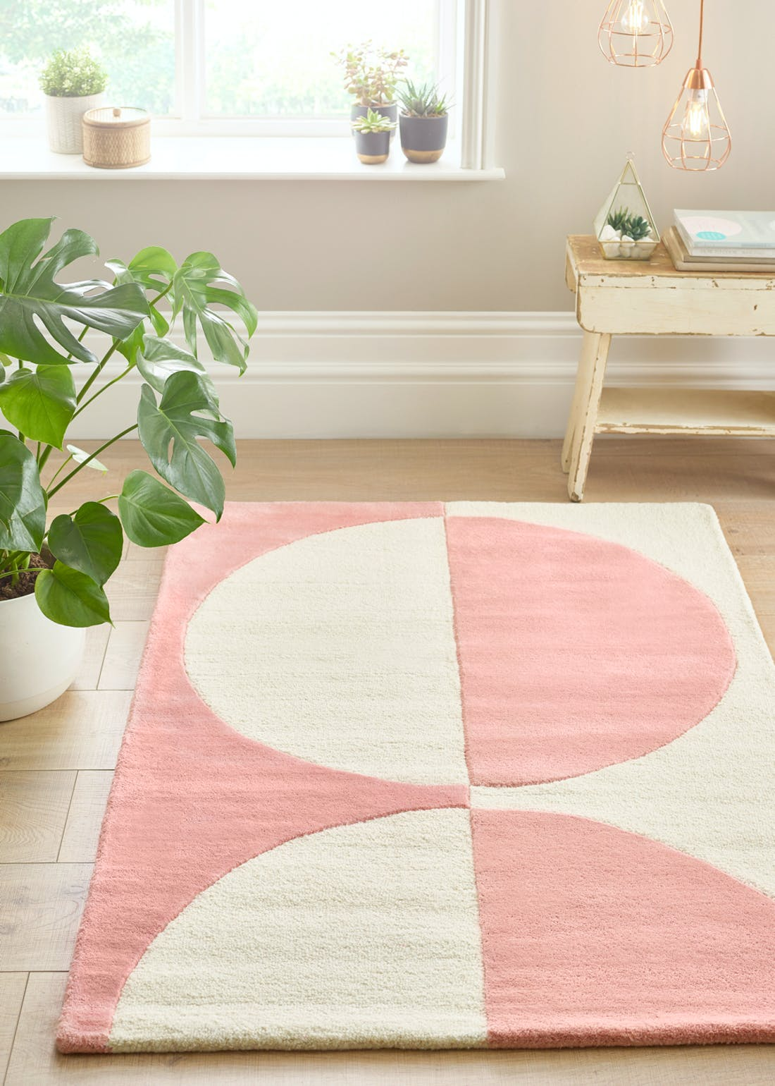 Mallow Carved Wool Rug