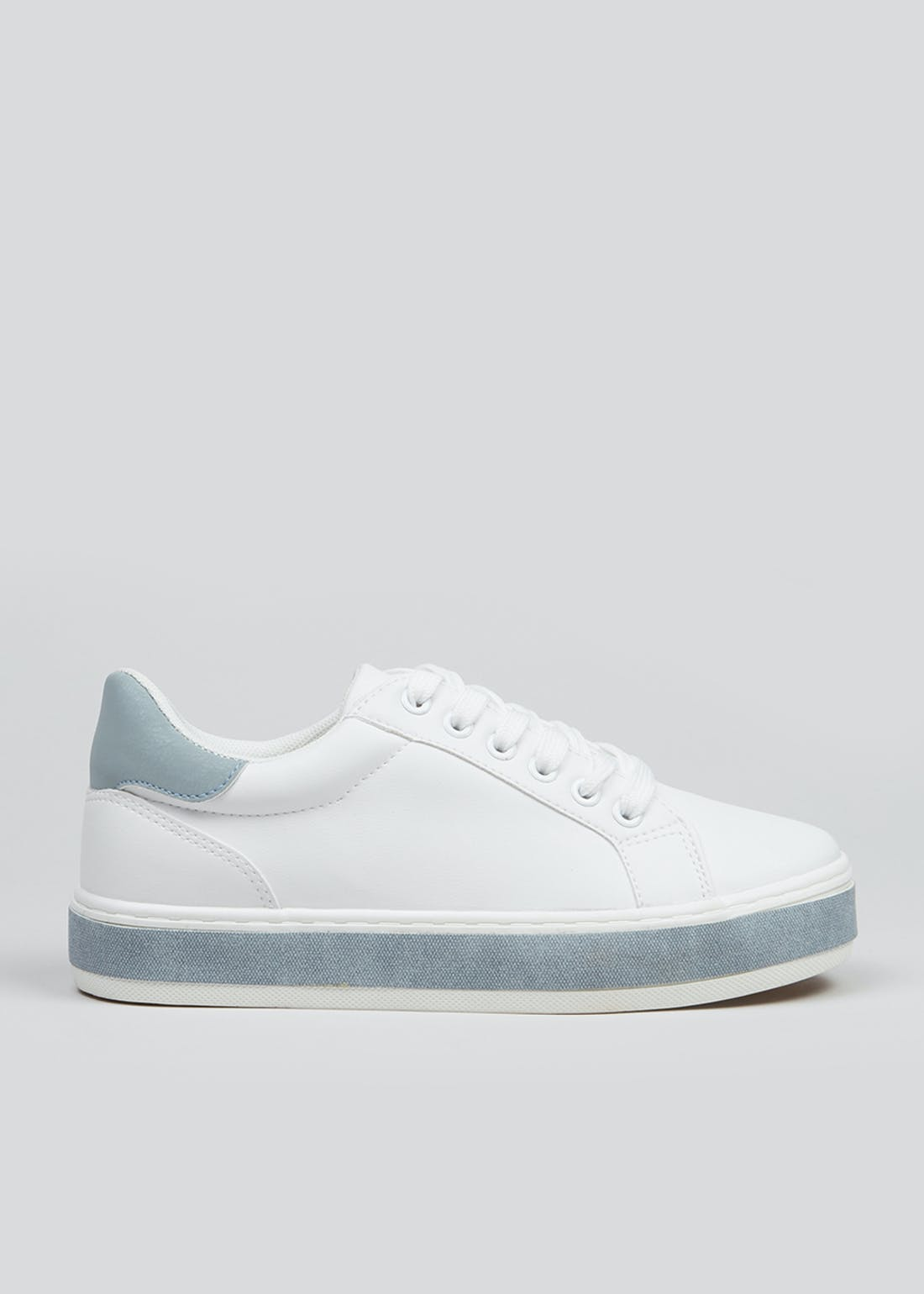 White Tape Sole Trainers
