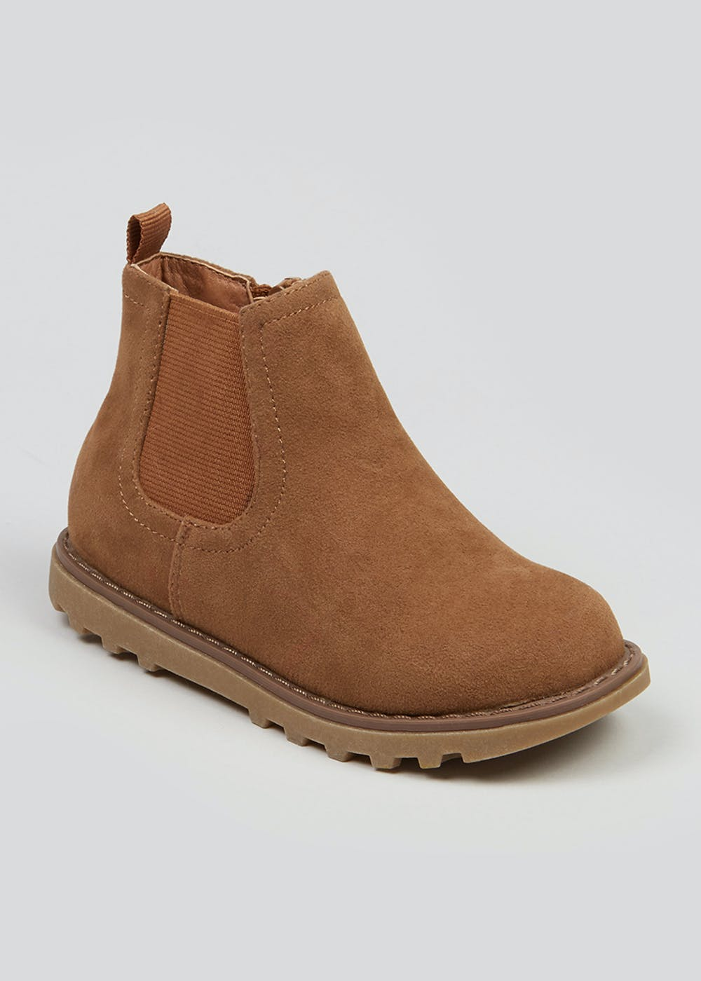 Boys Tan Chelsea Boots (Younger 4-12