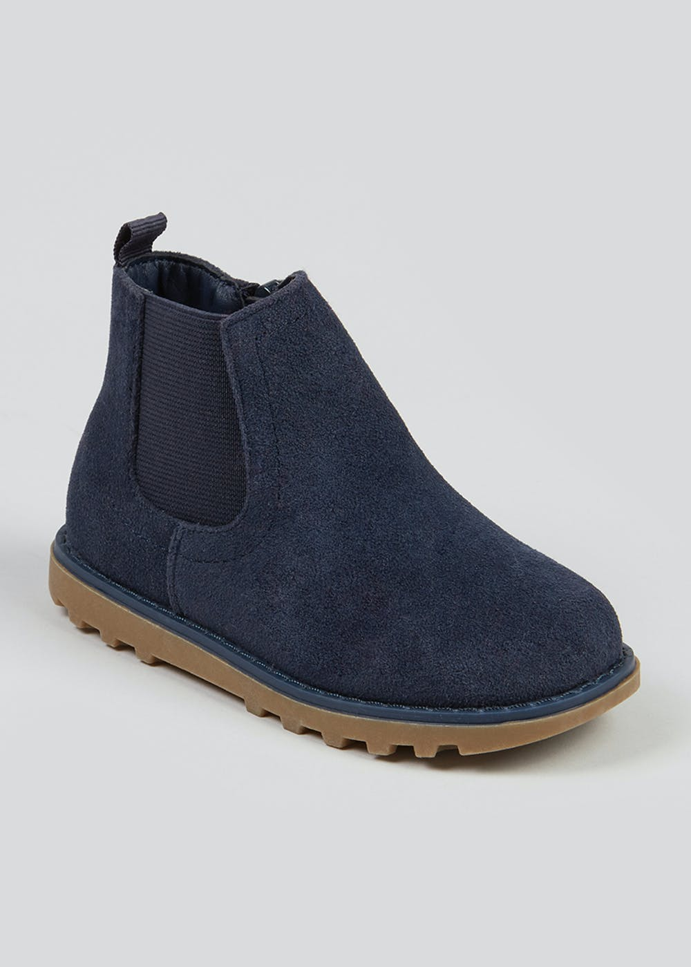 Boys Navy Chelsea Boots (Younger 4-12