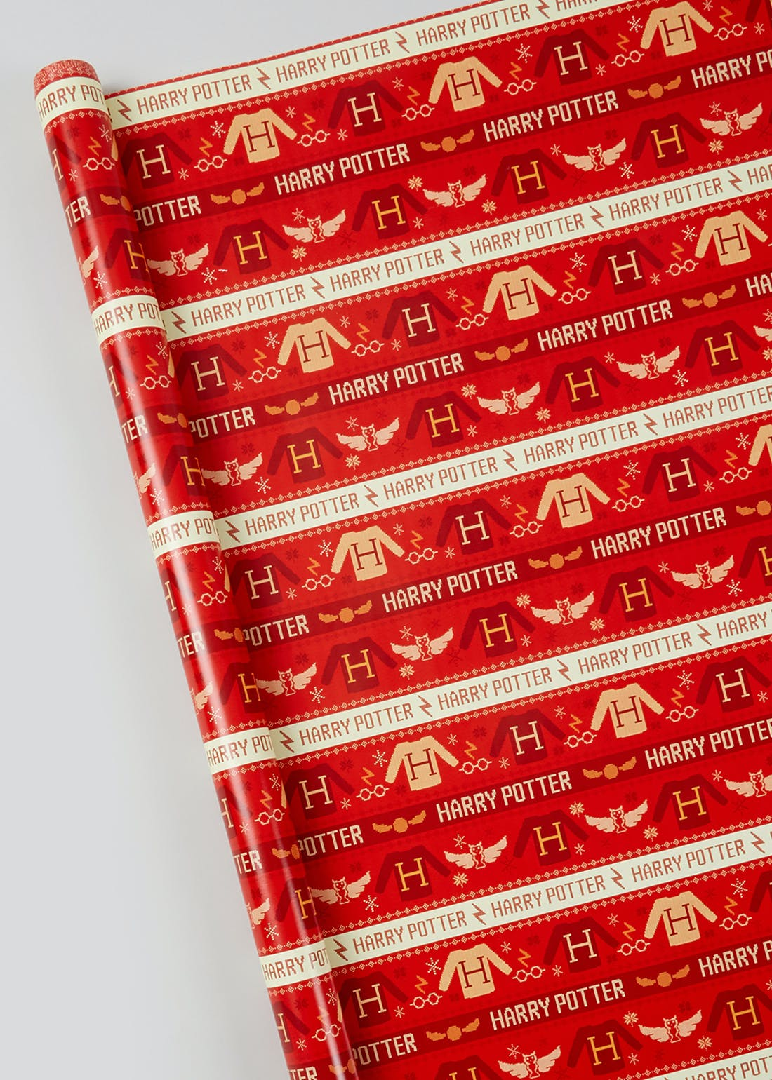 Harry Potter Christmas Wrapping Paper (4m)