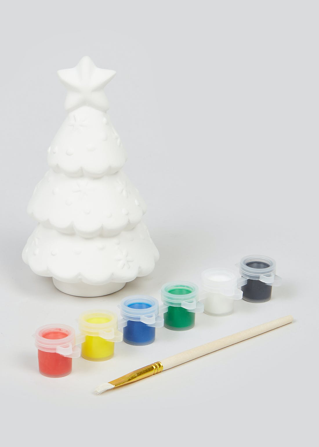 Paint Your Own Christmas Tree (12cm x 7cm)