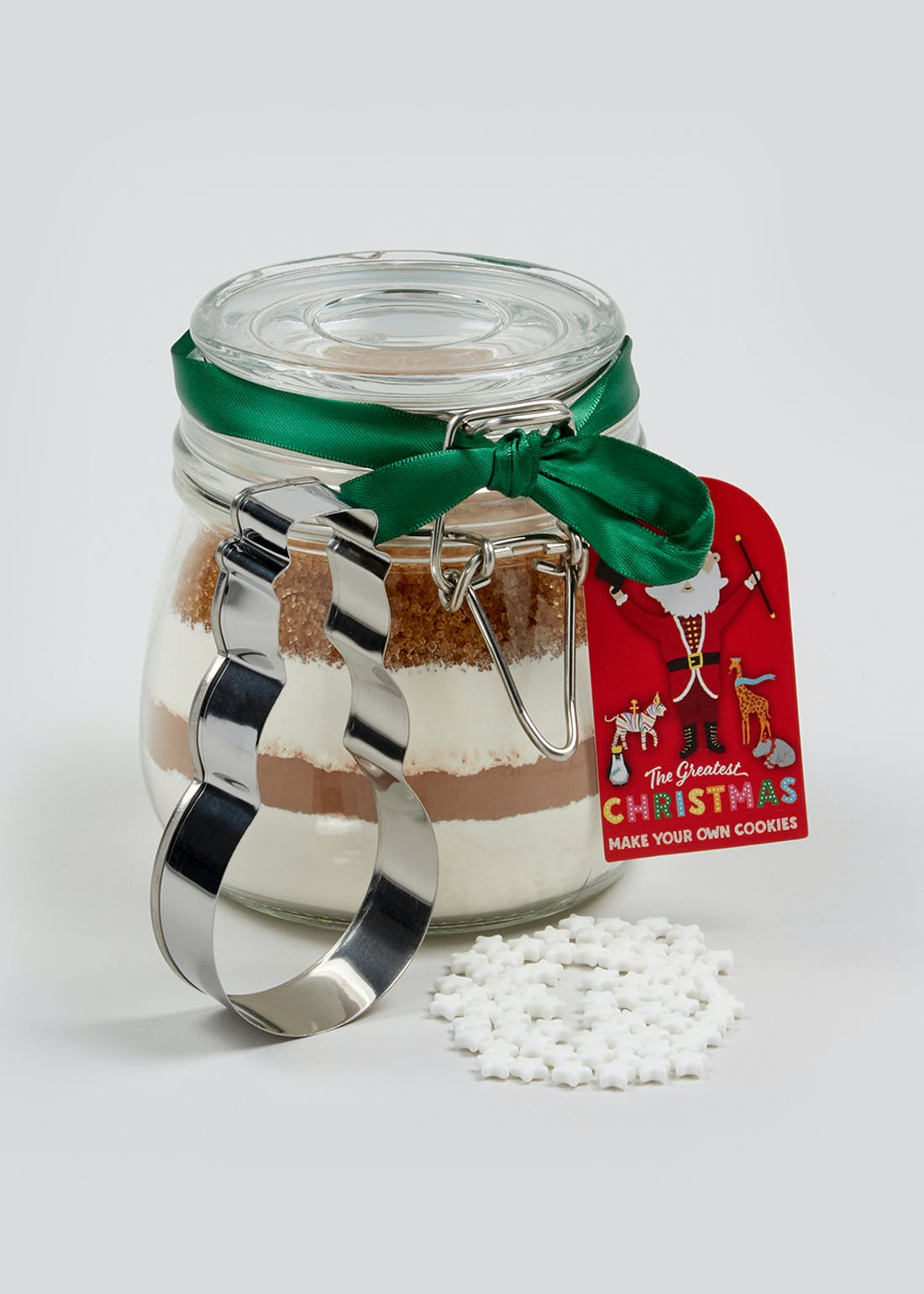 Christmas Cookie Jar Gift Set (14cm x 11cm x 10.5cm)