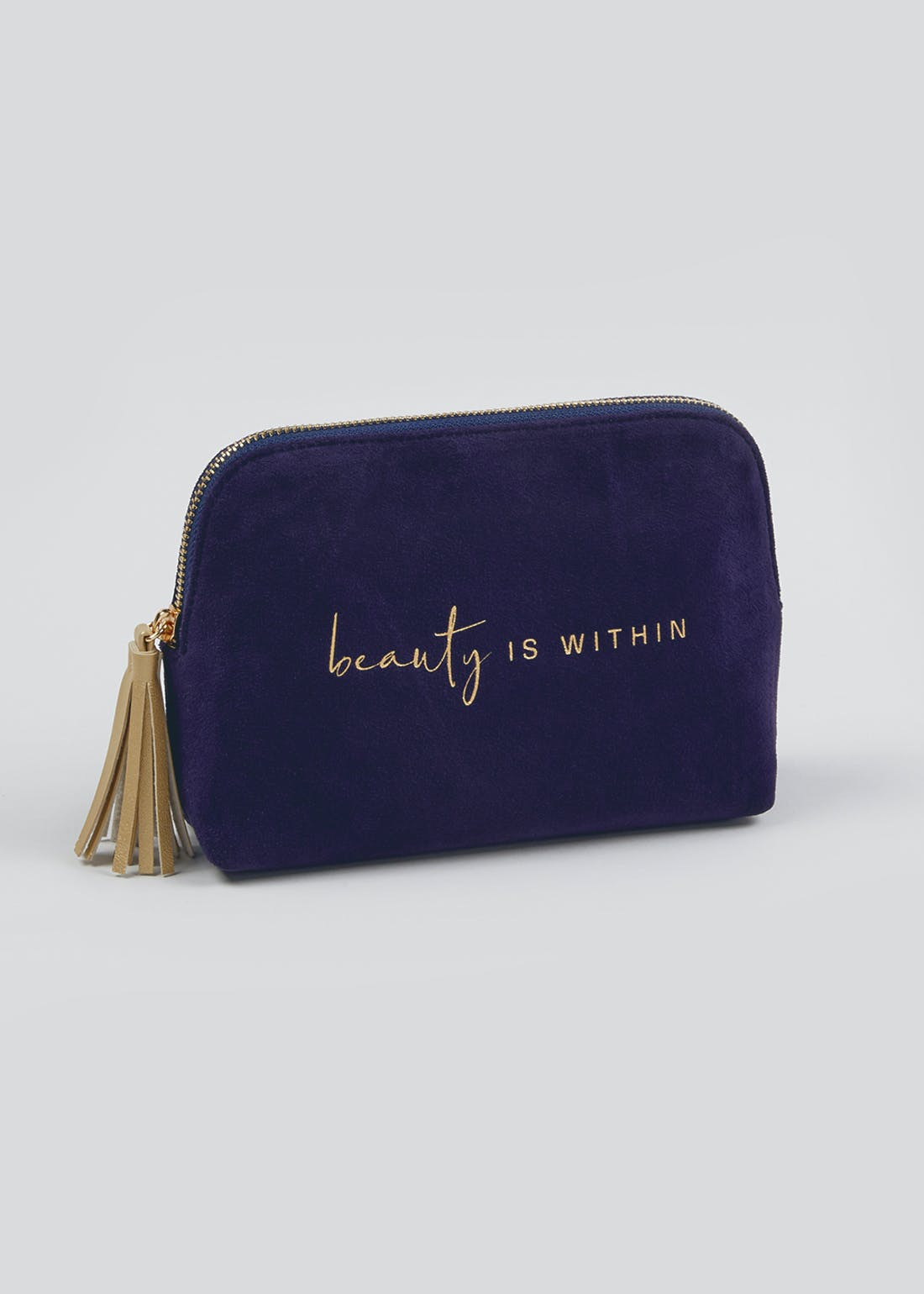 Beauty is Within Make Up Bag (20cm x 14.5cm x 6cm)