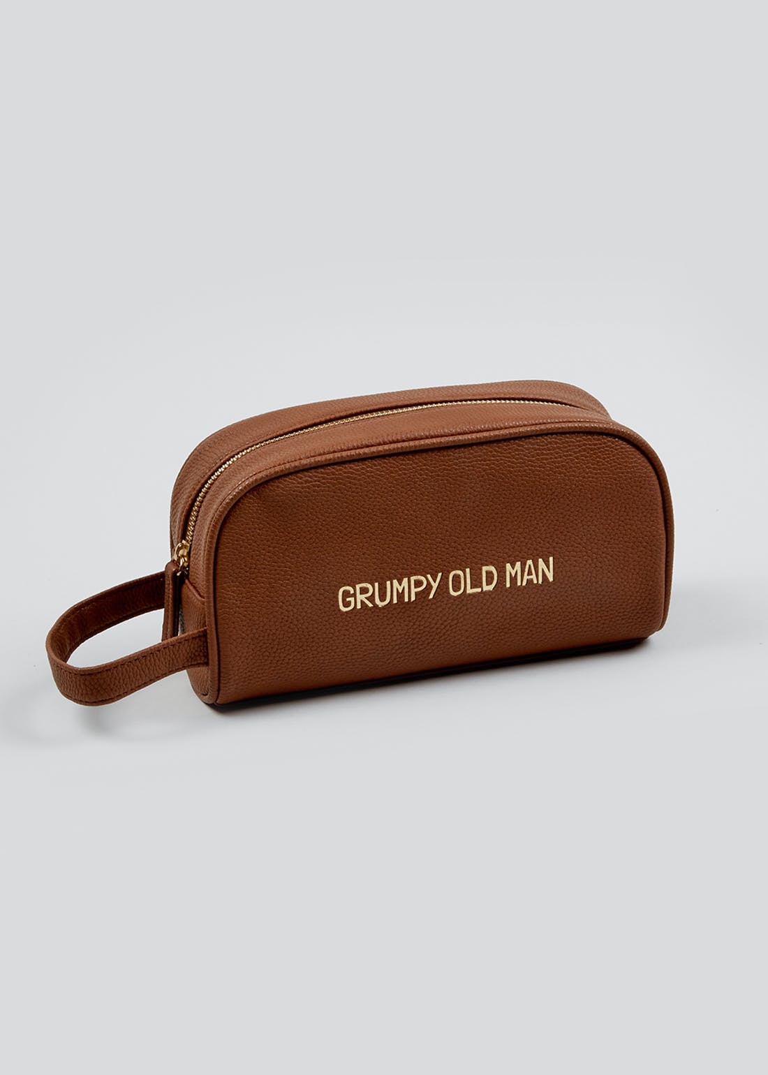 Grumpy Old Man Wash Bag (23.5cm x 13.5cm x 8.5cm)