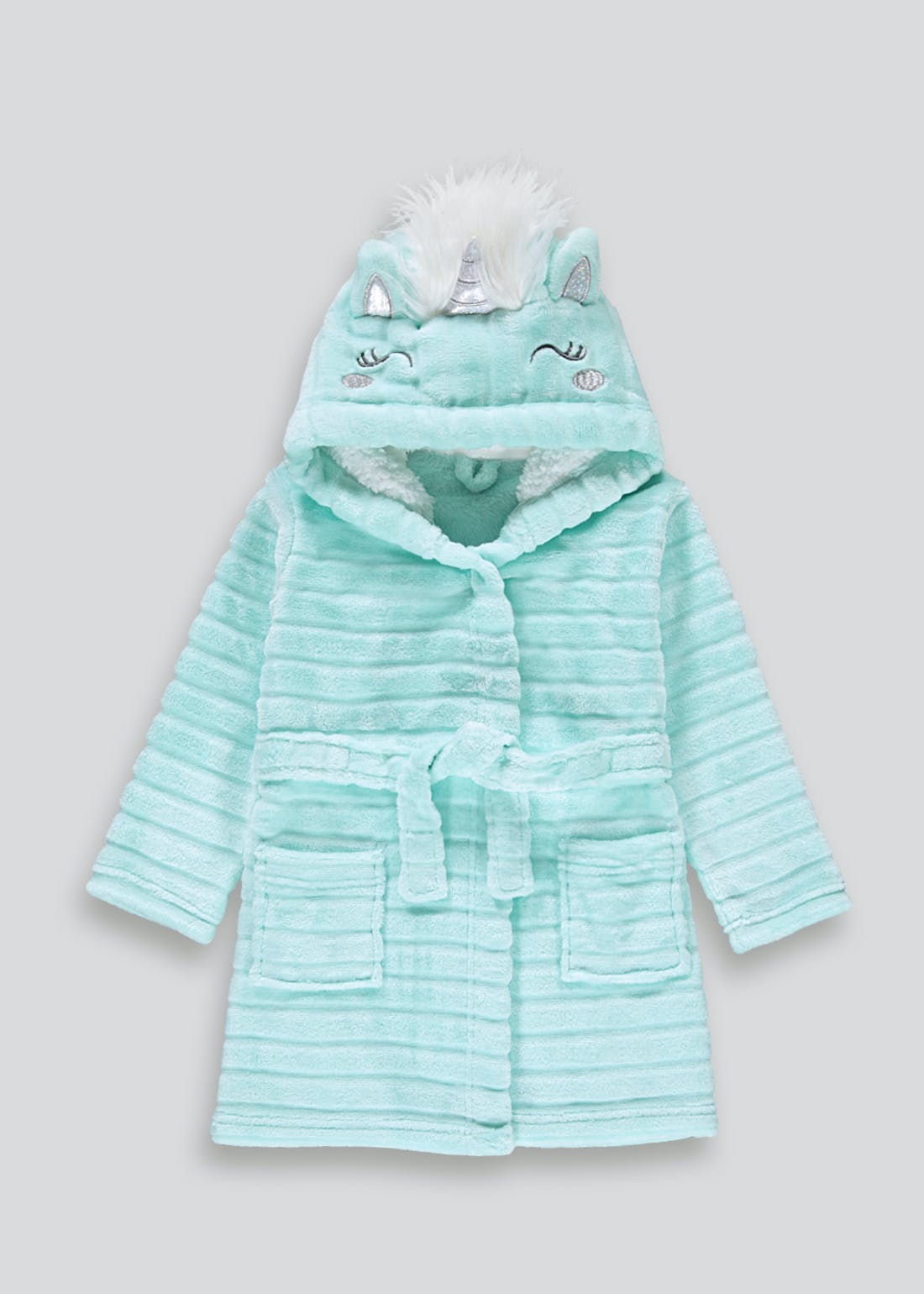 Girls Unicorn Dressing Gown (9mths-5yrs)
