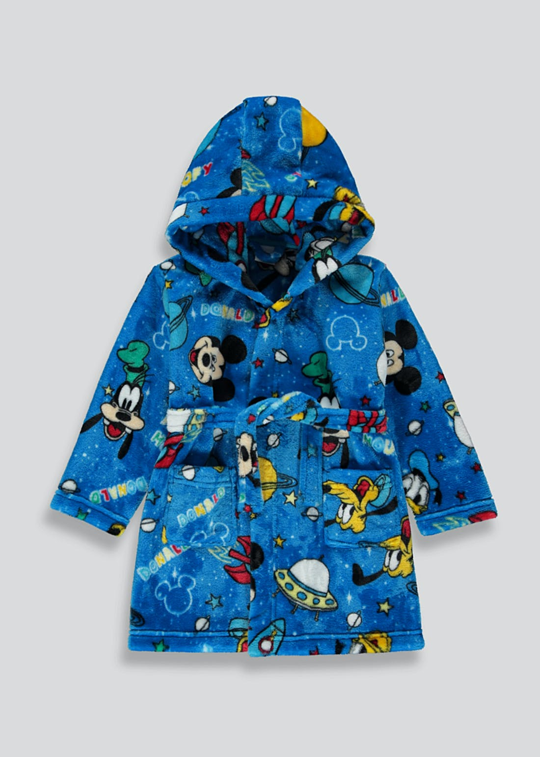 Kids Disney Mickey & Friends Dressing Gown (6mths-5yrs)
