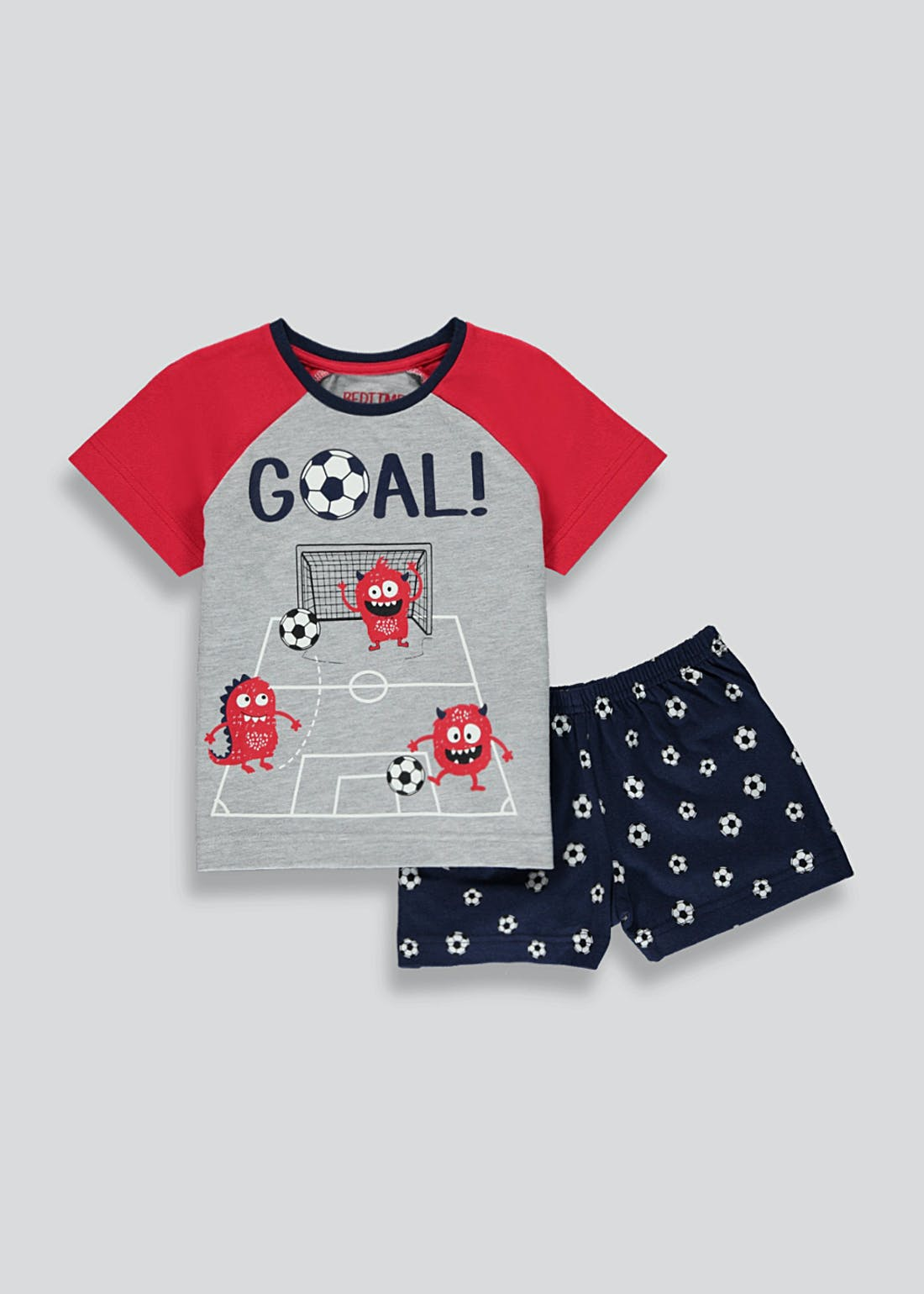 Boys Football Print Pyjamas (9mths-5yrs)