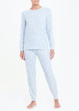 Soft Touch Star Print Pyjamas