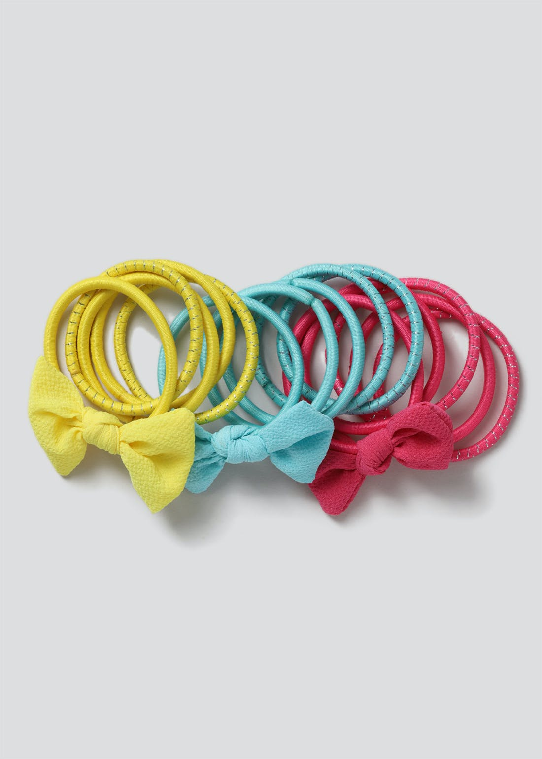 Girls Bow Hair Band Multipack