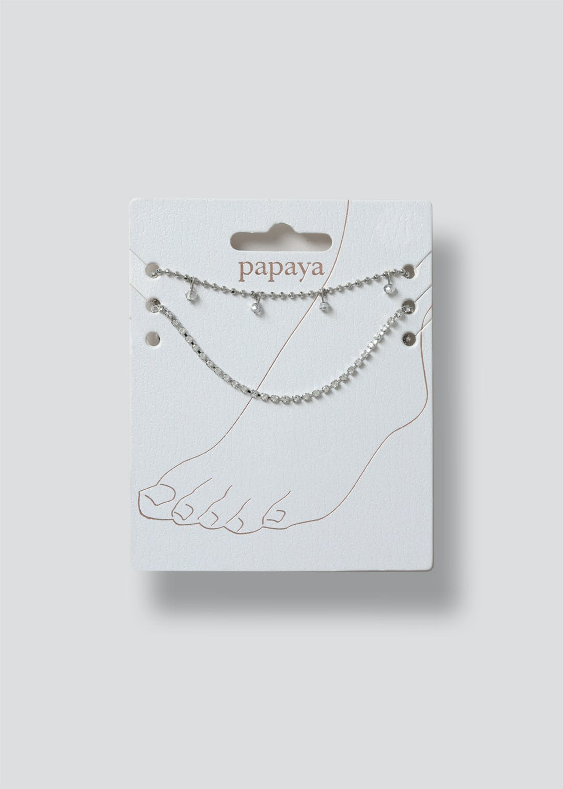 Chain Drop Anklet