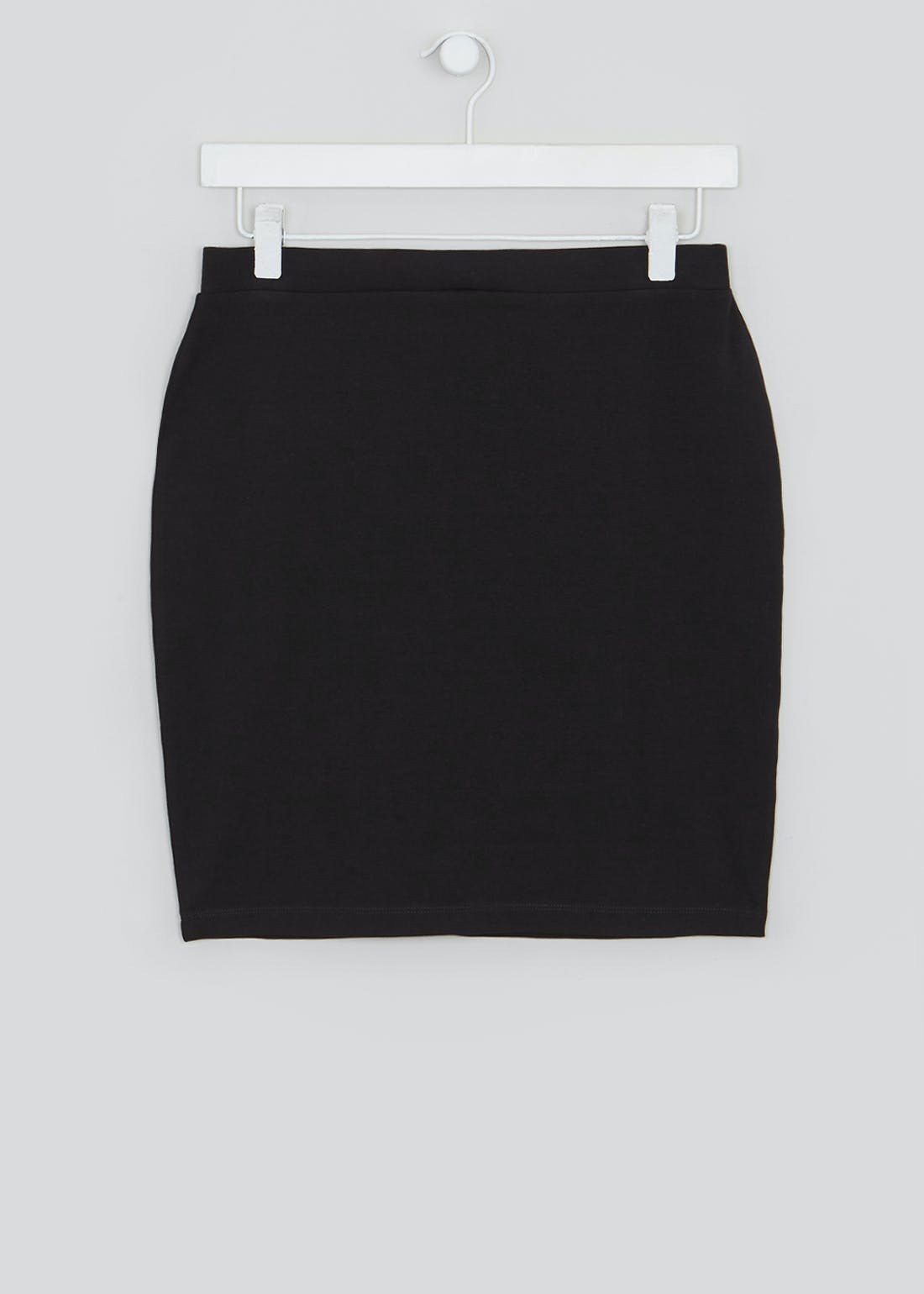 Pull On Jersey Mini Skirt