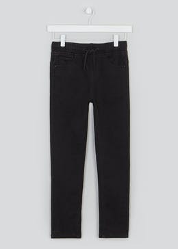 Boys Pull On Slim Fit Jeans (4-13yrs)